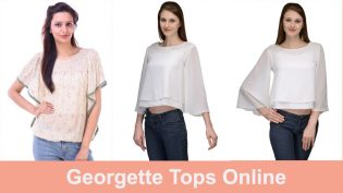 Georgette Tops Online In India – Get Trendy With Latest Fashion