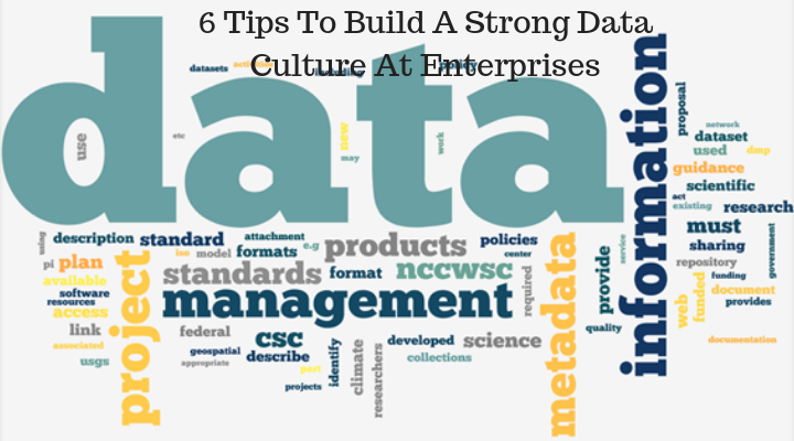 6 Tips To Build A Strong Data Culture At Enterprises