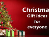 Top Christmas Gift Ideas For Everyone You Love