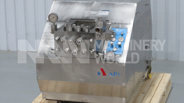 Choosing a Used APV Gaulin Homogeniser Online