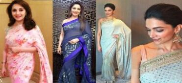 how to wear a saree to look slim