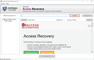 systools Retrieve Lost Data In Access
