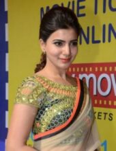 samantha saree