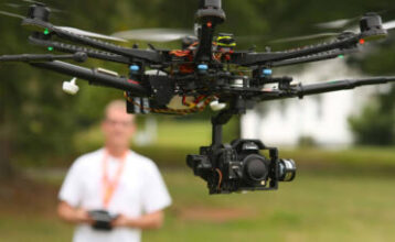 drones for video production